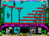 Nemesis the Warlock ZX Spectrum Level 2's arrangement