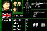Tom Clancy's Rainbow Six: Rogue Spear Game Boy Advance Choose your team members