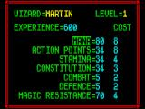 Lords of Chaos ZX Spectrum It's character building