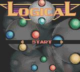 Log!cal Game Boy Color Title screen