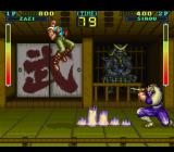 Hey Punk! Are You Tuff E Nuff? SNES Dodging an attack