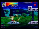 Mischief Makers Nintendo 64 All sorts of objects can be thrown, such as this flower