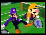 Mario Tennis Nintendo 64 Wario and new to this game, his brother Waluigi