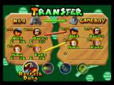Mario Tennis Nintendo 64 This Transfer Menu allows you to transfer players from the Game Boy game to the Nintendo 64