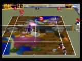 Mario Tennis Nintendo 64 Duking it out on Wario and Waluigi's court