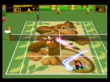 Mario Tennis Nintendo 64 DK's court has a very strong bounce