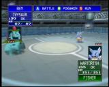 Pokémon Stadium Nintendo 64 Ivysaur and Wartortle face off