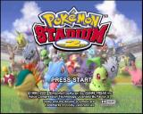 Pokémon Stadium 2 Nintendo 64 Title screen