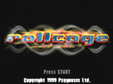 Rollcage PlayStation Title Screen