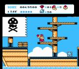 Don Doko Don 2 NES On a pirate ship