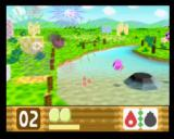 Kirby 64: The Crystal Shards Nintendo 64 Flame and Bomb produces pretty fireworks