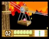 Kirby 64: The Crystal Shards Nintendo 64 Waddle Dee helps by walking on the platform to move it