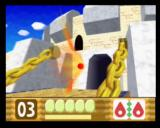 Kirby 64: The Crystal Shards Nintendo 64 Two Flame powerups turn Kirby into a lethal Phoenix