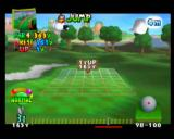 Mario Golf Nintendo 64 You can check your view ahead by using the R Button