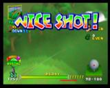 "Mario Golf Nintendo 64 All participating characters shout out ""Nice Shot!"" when you get one!"