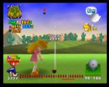 Mario Golf Nintendo 64 Peach is preparing to use a super strong Power Shot - these are limited!