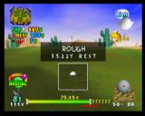 Mario Golf Nintendo 64 If you don't pay attention to the wind, your ball could end up anywhere