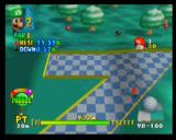 Mario Golf Nintendo 64 Baby Mario needs to be careful, this level has inclines, too