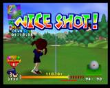 Mario Golf Nintendo 64 Because Plum got a Nice Shot, she doesn't lose a power shot