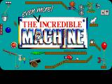 The Even More! Incredible Machine DOS title screen - VGA