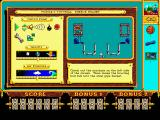 The Even More! Incredible Machine DOS description of the next puzzle - VGA
