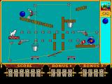 The Even More! Incredible Machine DOS a complicated puzzle with many new parts - VGA
