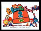 PaRappa the Rapper 2 PlayStation 2 Title Screen