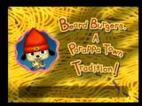 PaRappa the Rapper 2 PlayStation 2 Each Stage has its own title card, like this