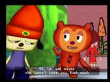 PaRappa the Rapper 2 PlayStation 2 PJ tries to cheer PaRappa up