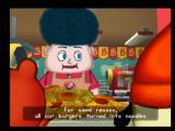 PaRappa the Rapper 2 PlayStation 2 Noodle Burgers - the new taste sensation