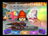 PaRappa the Rapper 2 PlayStation 2 The ghost of the previous owner trains PaRappa