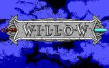 Willow DOS title screen - EGA