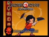 Jackie Chan Adventures PlayStation 2 Title Screen