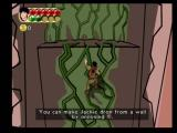Jackie Chan Adventures PlayStation 2 Jackie can climb vines like this