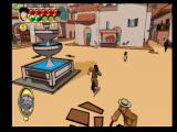 Jackie Chan Adventures PlayStation 2 In the Mexican town square