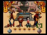 Jackie Chan Adventures PlayStation 2 Jade volunteers to play the drums - hit the correct button when the drums are between the cursor