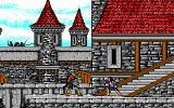 Willow DOS battle at the castle - EGA