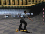 Tony Hawk's Pro Skater PlayStation The number of tapes left until the next unlock is shown after the tape count