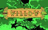 Willow DOS title screen - CGA