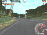 Need for Speed: V-Rally PlayStation In-Car View