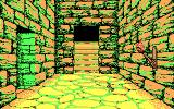 Willow DOS lost in the dungeons - CGA