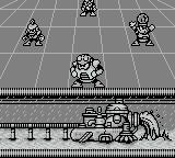 Mega Man IV Game Boy Choose which level you want to play first