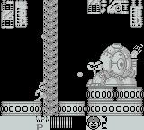 Mega Man IV Game Boy This boss needs to be shot in the eyes when they are open