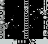 Mega Man IV Game Boy Do'nt stop for a second when climbing past these or they will hit you and knock you off the ladder