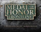 Medal of Honor: Frontline Xbox Intro screen