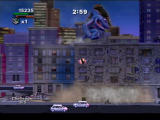Rampage: Total Destruction PlayStation 2 If the buildings are close together, you can run straight across them