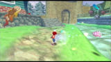 Ape Escape 2 PlayStation 2 Whacking the pig monster sends it flying!
