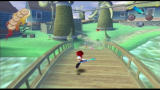 Ape Escape 2 PlayStation 2 The windmill blades here are shaped like bananas.