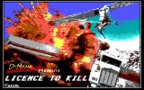 007: Licence to Kill DOS Title screen (EGA)