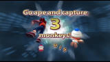 Ape Escape 2 PlayStation 2 Before each stage, you are told how many monkeys you need to catch.